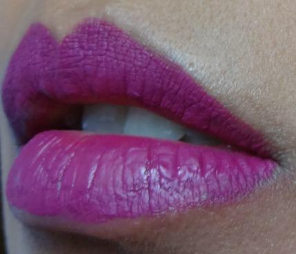 matte me by sleek fandango purple brink pink rouge à lèvres