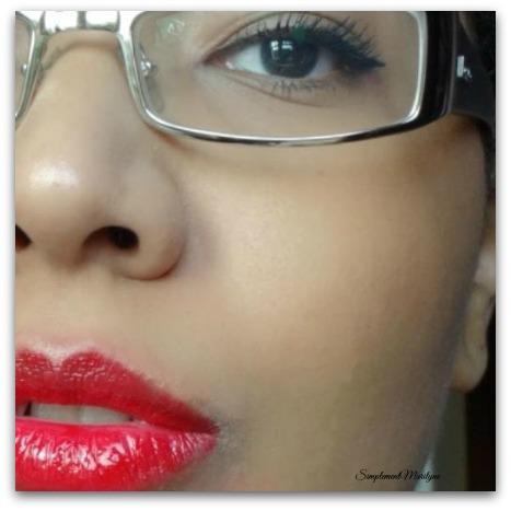 éclat minute confort clarins huile soin lèvres honey miel raspberry bijou simplement marilyne rouge à lèvres mac riri woo
