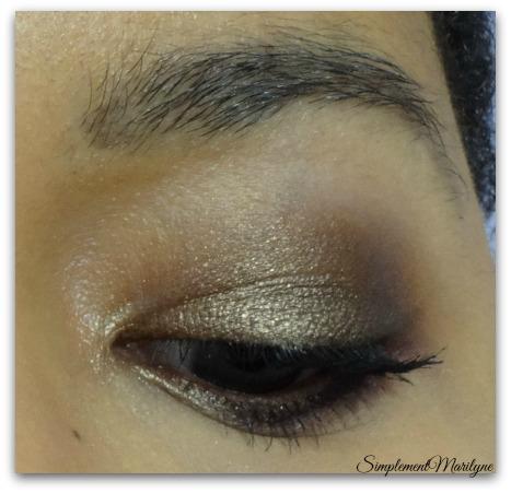 Bronze-sur-msc Maquillage-yeux-bronze msc monday shadow challenge simplement marilyne young punk ral lips levres violet