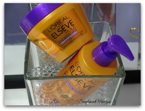 Low shampoo masque elseve l'oreal paris huile extraodrinaire cheveux crépus