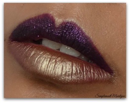 lips Maquillage-yeux-bronze msc monday shadow challenge simplement marilyne young punk ral lips levres violet