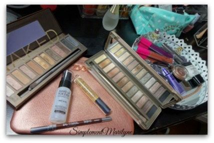 Naked Urban decay ud makeup for ever msc coloured raine bourbon simplementmarilyne