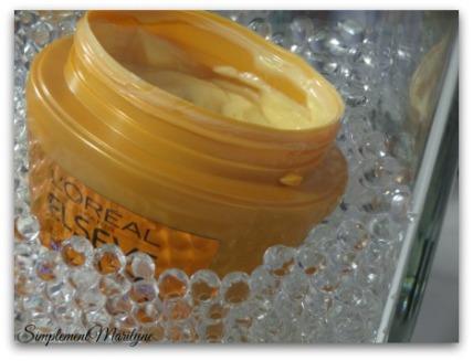 Masque-huile-extraordinaire Gamme-huile l'Oréal Huile Extraordinaire Nutrition Suprême low shampoo cheveux crepus afro hair cheveux masque nutrition supreme elseve avis nouveautés simplement marilyne