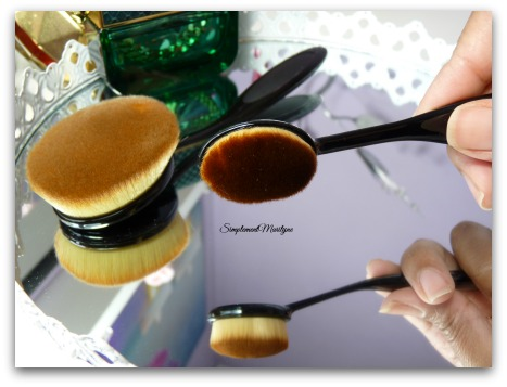 simplement marilyne Pinceau ovni oval makeup brush pinceau teint maquillage aliexpress site chinois artis