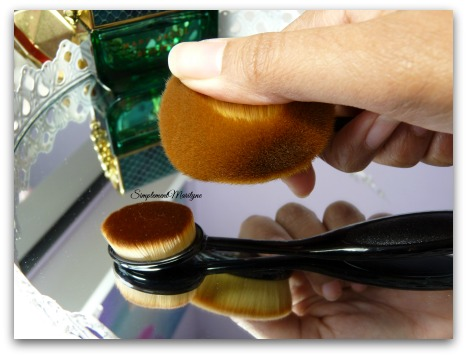 Pinceaux poils simplement marilyne Pinceau ovni oval makeup brush pinceau teint maquillage aliexpress site chinois artis