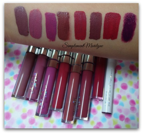 simplement marilyne ultra matte lips ultra satin lips Colourpop-swatches cheap thrills molly are n be more better bad habit stingraye leather privacy please
