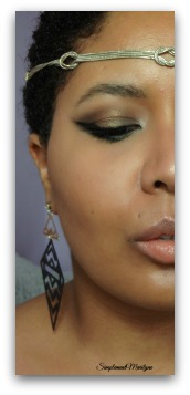 demi-face-maquillage-marron-doré simplement marilyne makeup maquillage ud urban decay golden chocolate