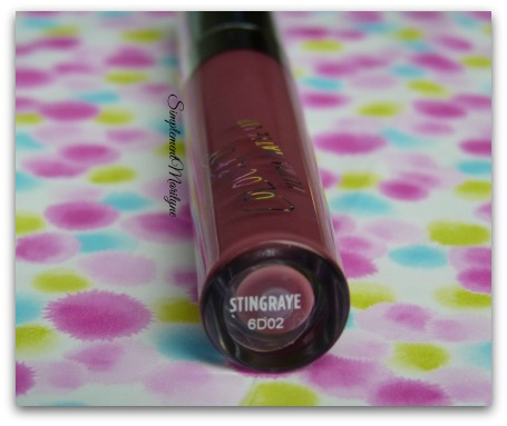 Stingraye-colourpop Stingraye colourpop swatch ultra matte lips rouge à lèvres liquide mate simplement marilyne