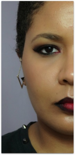 Simplement Marilyne maquillage msc rouge monday shadow challenge ombre lips