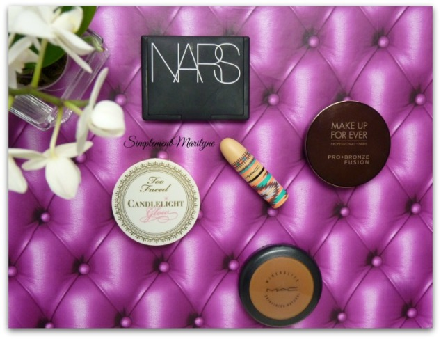 monday shadow challenge nars makeup for ever candelight glow mac hot chocolate lipstick simplement marilyne makeup
