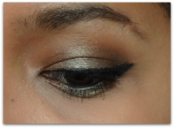 kaki bless her heart sweet peach too faced maquillage makeup eye msc monday shadow challenge simplement marilyne