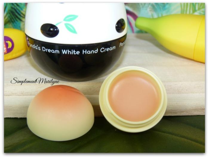 Lip balm peach tonymoly texture baume à lèvres haul sephora simplement marilyne