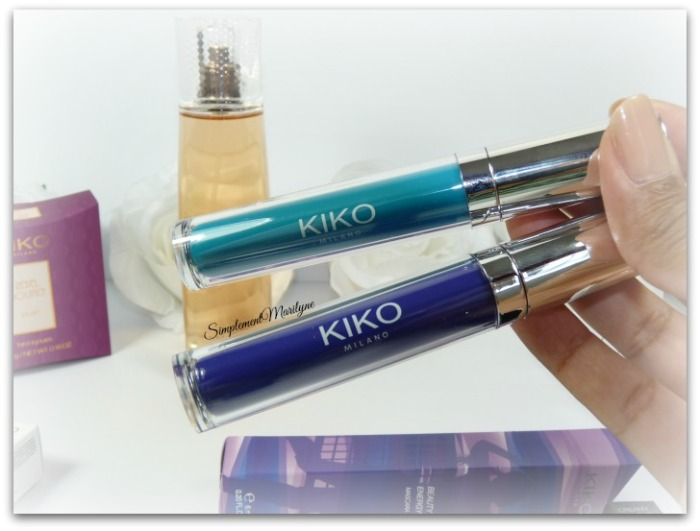 kiko milano mascara the beauty games energy graphical turquoise vivid violet nouveauté haul simplement marilyne