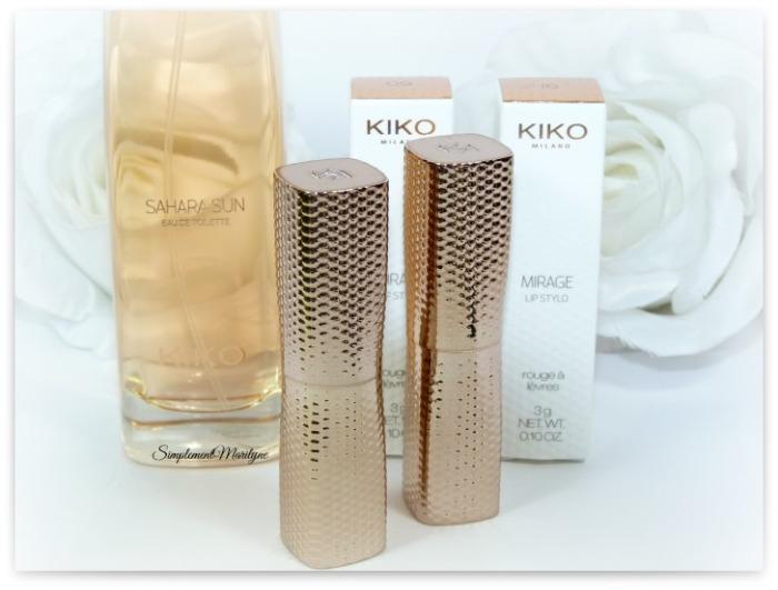 Wanderlust kiko milano mirage lip stylo 16 9 parfum sahara sun haul nouveautés rouge à lèvres simplement marilyne