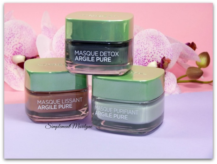 multi-masking masque argile pure detox purifiant lissant l'oréal skincare visage simplement marilyne