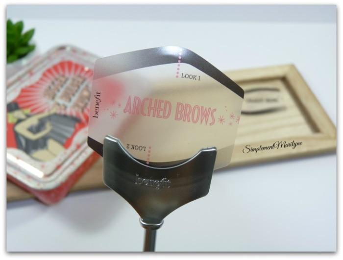 pochoir benefit kit Bigger & bolder brows Accessoires et produits sourcils abracadabrow ka-brow ready set simplement marilyne