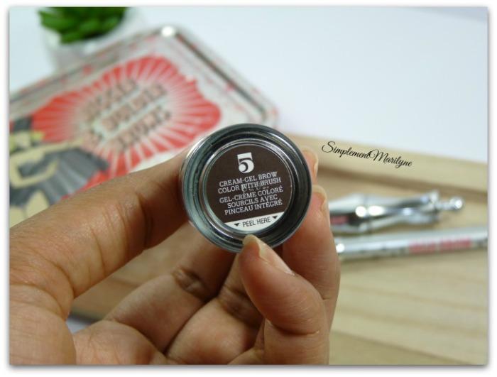 teinte 5 ka-brow benefit Bigger & bolder brows Accessoires et produits sourcils ready set brow high brow abracadabrow sourcils clairsemés simplement marilyne