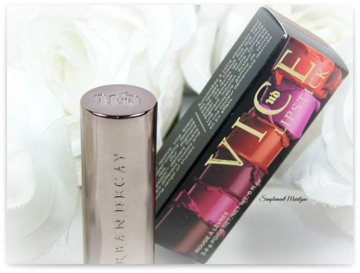UD vice lipstick 1993 comfort matte rouge à lèvres simplement marilyne