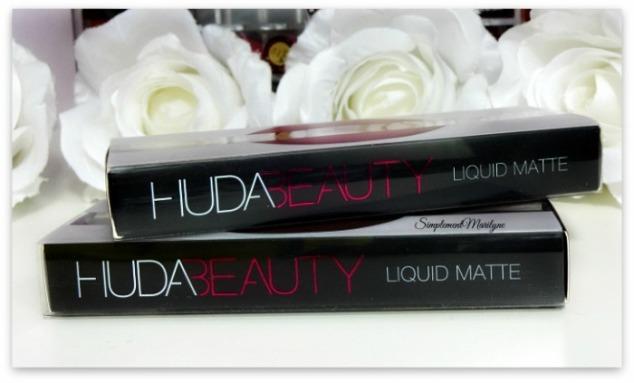 Liquid matte rouge a lèvres liquide matte famous trophy wife swatches huda beauty peau métissée simplement marilyne