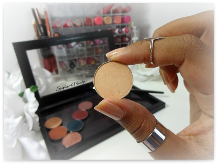 makeup geek beaches cream eyeshadow pan z palette fard à paupière mug simplement marilyne