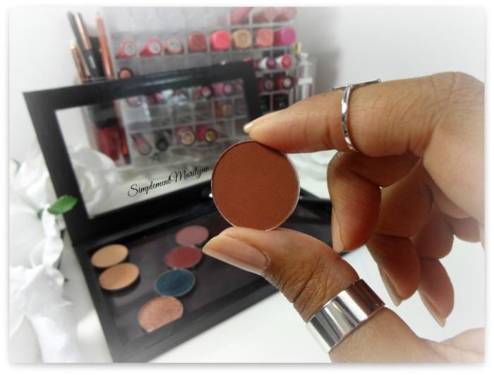 makeup geek cocoa bear eyeshadow pan z palette fard à paupière mug simplement marilyne