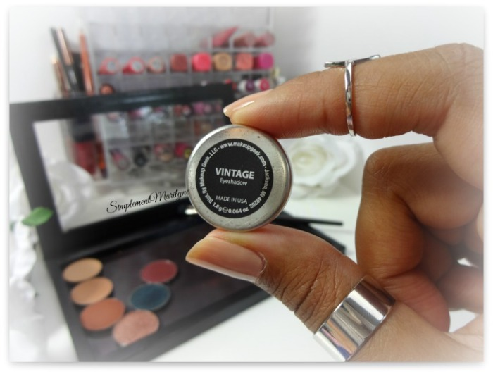 vintage makeup geek eyeshadow pan z palette fard à paupière mug simplement marilyne