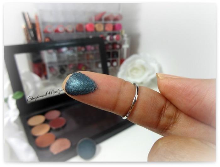 swatch makeup geek foiled houdini eyeshadow pan z palette fard à paupière mug simplement marilyne
