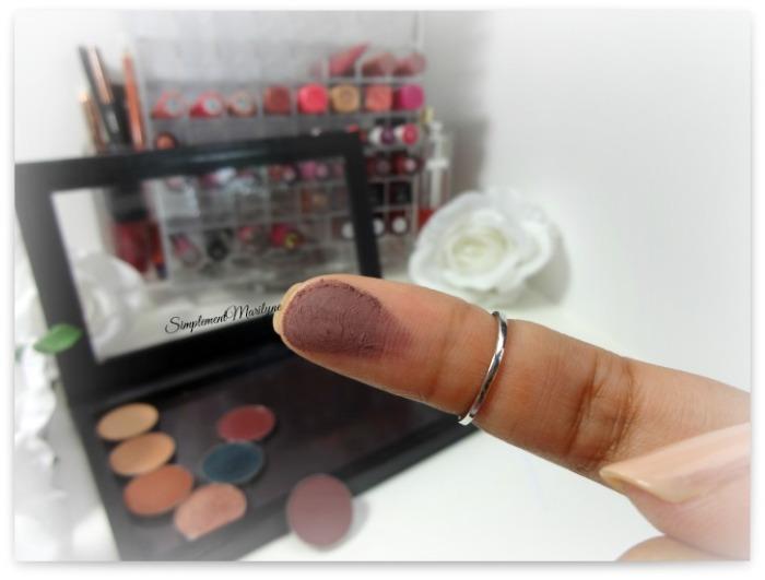 swatch vintage makeup geek eyeshadow pan z palette fard à paupière mug simplement marilyne