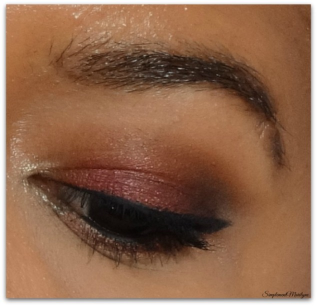 maquillage automnal burlesque burgundy sweet peach mug makeup geek smoky zoeva liner fingertips black sephora simplement marilyne