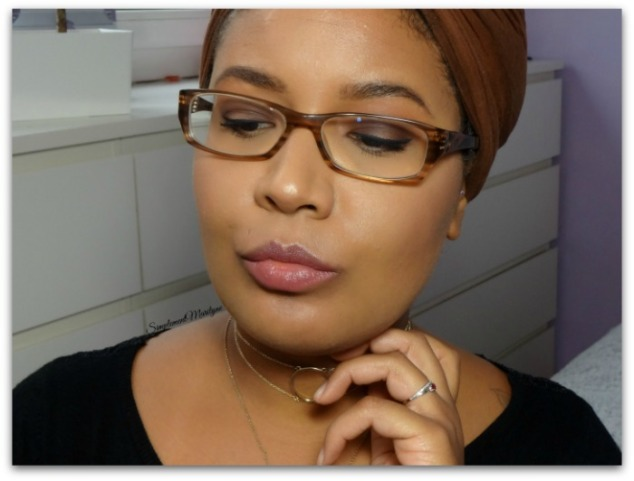 maquillage avec lunettes chocolate bar too faced fall makeup Ka brow Benefit Hot Chocolate Mac Brown automnal lumineux simplement marilyne