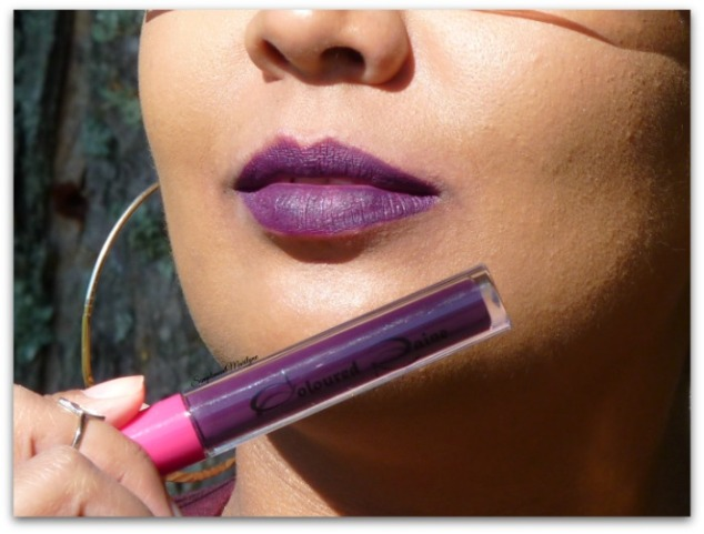 fall edition rouge à lèvres automne matte liquid lipstick coloured raine raine fever swatch simplement marilyne