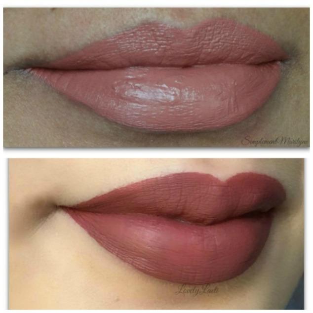 Gerard-cosmetics-hydra-matte-liquid-lipstick-comparaison-profil-swatches-peau-claire-metisse-1995- hydra-matte-liquid-lipstick-rouge-à-lèvres-revue-swatch-simplement-marilyne