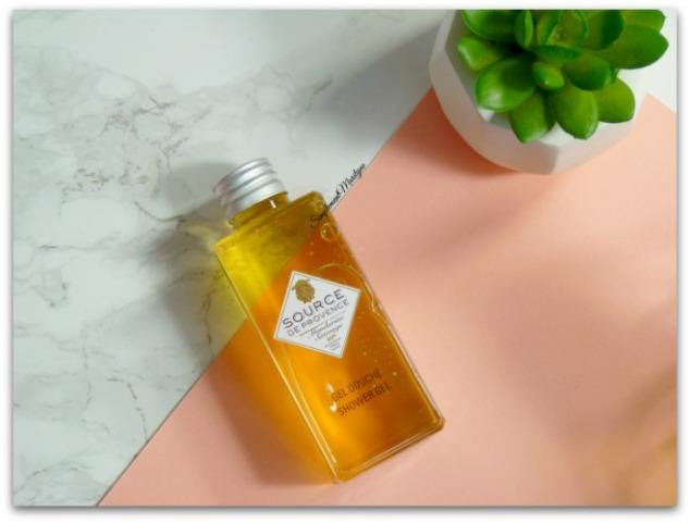 source de provence mandarine sauvage gel douche simplement marilyne