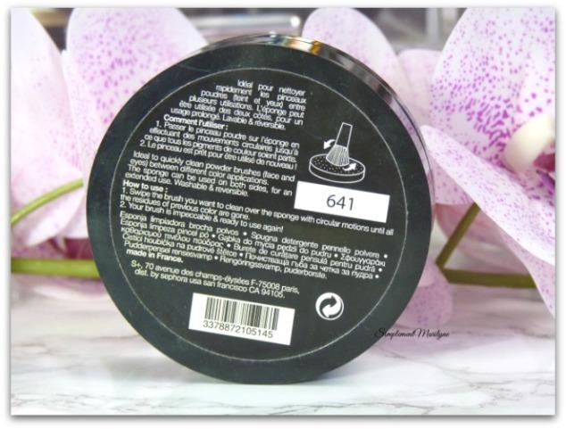 éponge nettoyante eponge pinceaux sephora utilisation brush cleaning sponge sans eau ni savon petit prix simplement marilyne