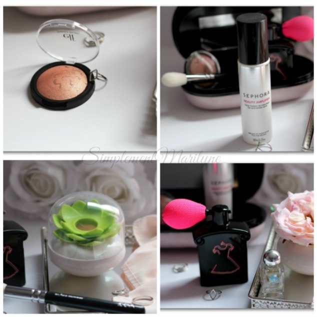 Diy-rose-highlighter-pot-lotus-blush-elf-beauty-amplifier-spray-fixateur-maquillage-sephora-lit-cosmetics-colle-guerlain-maison-du-monde