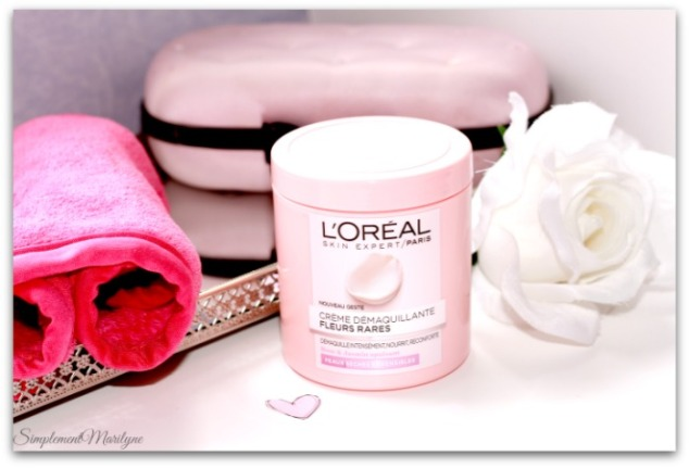 L'Oreal-Paris-creme-demaquillante-fleurs-rares-nouveau-geste-jasmin-rose-demaquillant--nourrisant-reconfrantant-simplement-marilyne-makeup-eraser-peau-seche-sensible