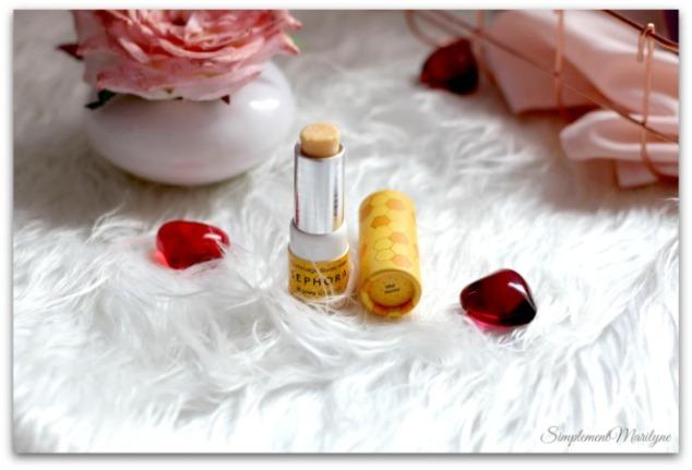 favoris-du-moment-gommage-miel-lèvres-sephora-douce-nourri-simplement-marilyne