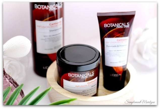 botanicals-fresh-care-carthame-cheveux-shampooing-masque-pommade-douceur-cheveux-crépus-routine-infusion-richesse-simplement-marilyne