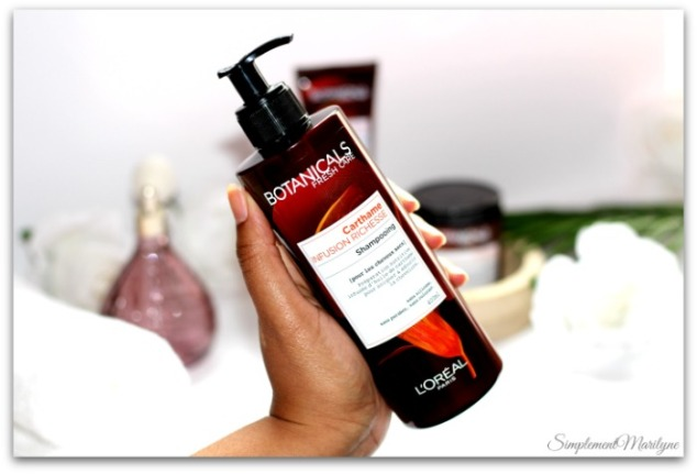 Infusion-richesse-shampooing-botianicals-fresh-care-cheveux-secs-crépus-carthame-simplement-marilyne