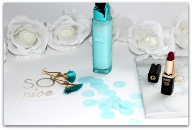 soin liquide hydra genius l'oreal paris aloe water hydratation peaux seches et sensibles chandeliers à pampilles lotus stella&dot simplement marilyne
