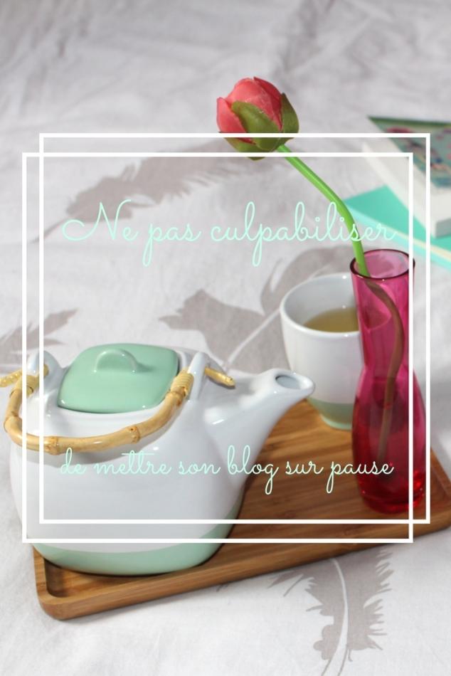 Ne pas culpabiliser de mettre son blog sur pause