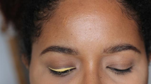 liner jaune nyx