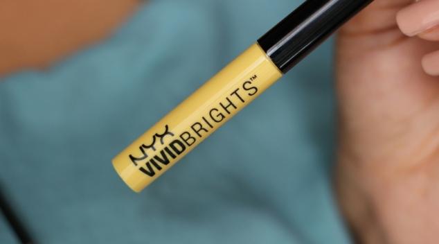 liner eyeliner nyx vivid brights jaune