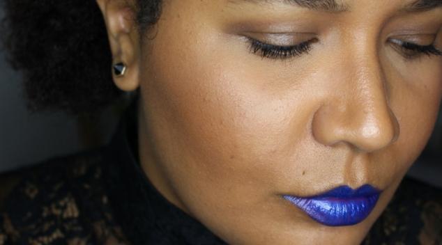 comment porter du bleu sur les levres rouge a levre nyx astuces peau métissée