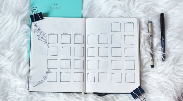 Monthly log Bujo
