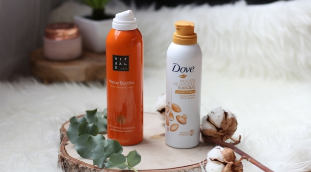 Happy Buddha Rituals vs Huile d'argan Dove