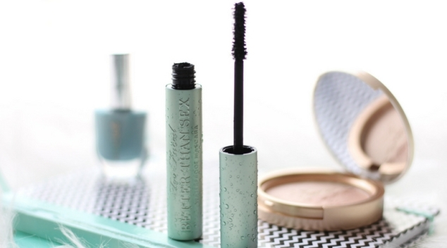 Mascara Too Faced Better Than Sex version waterproof brosse sablier