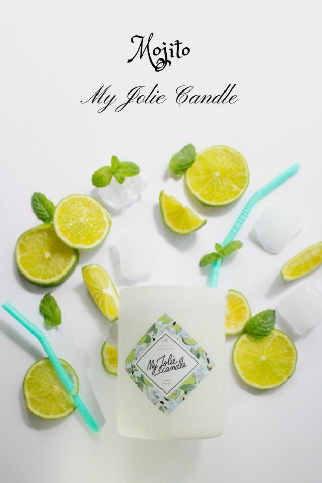 My jolie candle Mojito bougie bijou