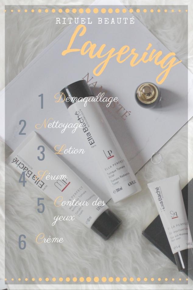Rituel beauté, méthode layering 6 étapes simples pour une peau plus nette
