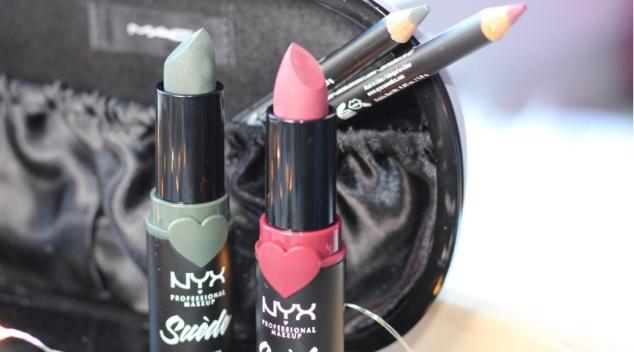Nyx suède matte lipstick lip liner